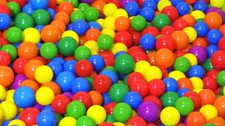 """The Ball Pit Show"" for learning colors -- children's educational video"