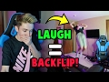 TRY NOT TO LAUGH CHALLENGE! *BACKFLIP EDITION*