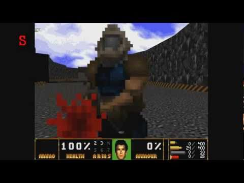 Spike & Barley Play : Skulltag: GoldenEye Doom2 (Part 1)