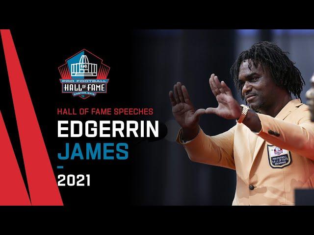 Edgerrin James Full Hall of Fame Speech  2021 Pro Football Hall of Fame  NFL