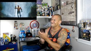 Aquaman extended footage reaction!!!