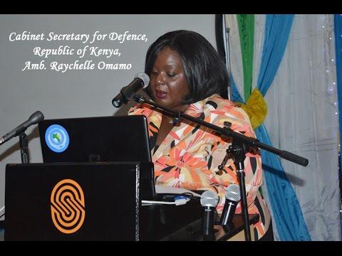 EASF Day Kenya - Cabinet Secretary for Defence Amb. Raychelle Omamo
