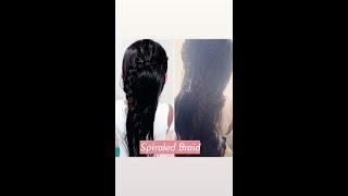 Simple Spiraled Braid 💫