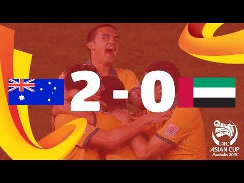 فيديو.. ملخص وأهداف مواجهة الإمارات وأستراليا في كأس آسيا