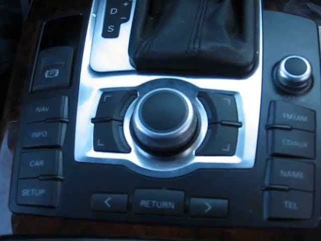 How to Remove MMI Control Module from 2008 Audi A6 for ...