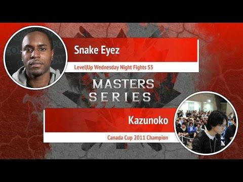USFIV: Snake Eyez vs Kazunoko - Canada Cup Master Series