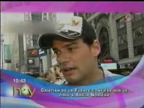 ADELA NORIEGA CRISTIAN DE LA FUENTE NOTA DEL PROGRAMA HOY.