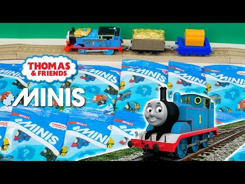 Thomas and Friends Minis Blind Bag Surprise Figures NEW 2016 Kinder Playtime