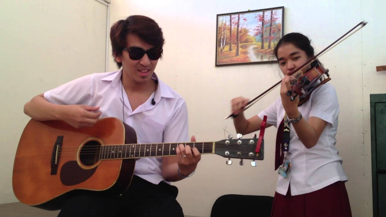 HILING - Silent Sanctuary (guitar and violin cover) - YouTube