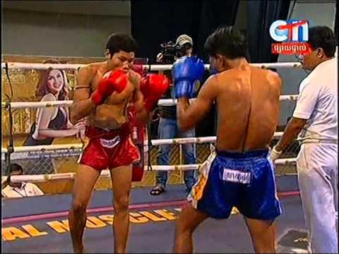 CTN Boxing, Soum Vi Chhay VS Atn Sok Phol, 24-Aug-2014, Round 01