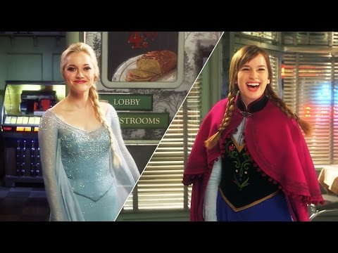An Up-Close Look at the Costumes of Anna and Elsa