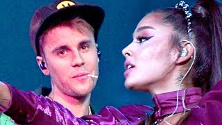 Ariana Grande Performs with Justin Bieber for Coachella Week 2