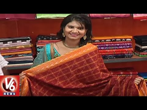 Hyderabad People Attracts Towards Handloom Expo | V6 News