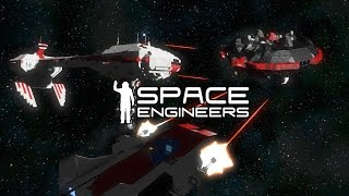 Space Engineers - AI Faction Added Officially In Patch - Nebulon B Vs Pirate Base