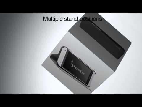 Poetic FlipBook Case: HTC One Mini M4