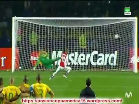(Relator Llorando) Ultimo penal Paraguay vs Brasil (Relato Juan Antonio Mereles) Copa America 2015