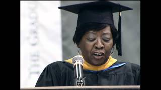 Crystal Davis Peoples-Stokes, '74, '02: Delivered the 2012 Commencement Address
