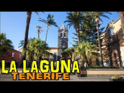 LA LAGUNA - Tenerife 4K