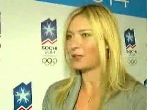 Sharapova backs Russian Olympic bid