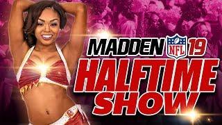 Madden NFL 19 NEW Halftime Show! Madden 19 Presentation Deep Dive
