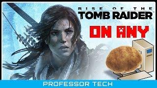Rise Of the Tomb Raider किसी भी PC पे कैसे चलायें POTATO GPU के साथ