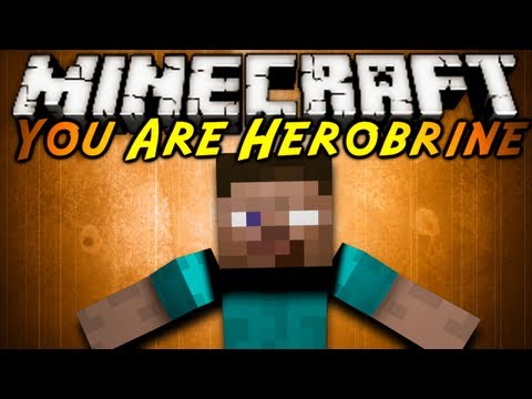 Minecraft Mod Showcase : YOU ARE HEROBRINE!