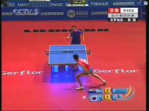 WTTC 2006 Jiang Weizhong vs Lee Jung Woo (Croatia vs South Korea)