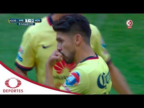 Gol de Oribe Peralta | América vs Morelia | Cl 2016 | Televisa Deportes