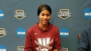 Great Midwest Women's Basketball Championship - Sha Carter (Walsh)