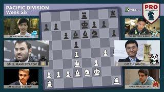 PRO Chess League Week Six: Pacific Division - Pandas Power Up