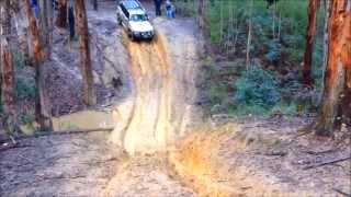 Geelong 4WD Club Wombat State Forest 6-7-14 Mud Offroad 4X4