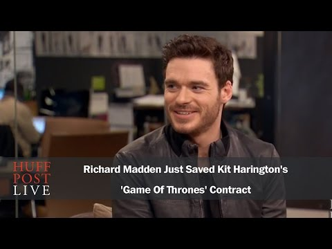 Richard Madden Just Saved Kit Harington's 'Game Of Thrones' Contract