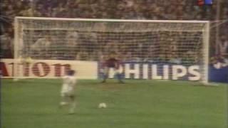1985-86 EC FINAL PENALTY SHOOT-OUT  BARCELONA v STEAUA