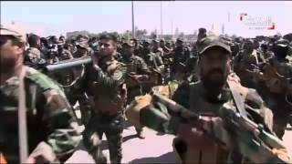ميليشيا سرايا السلام التابعة لمقتدى الصدر تجري استعراضا عسكريا بعدة محافظات