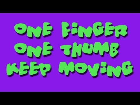 One Finger One Thumb Keep Moving - Children's Songs - Kids by The Learning Station