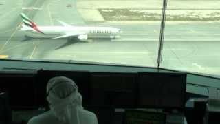 Up close with air traffic controllers at Dubai International Airport