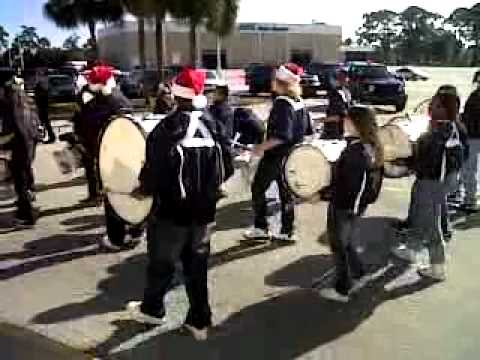 Calvary Christian Academy Ormond Beach FL Drumline part 3 - 11/15/2010