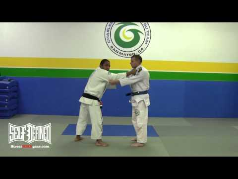 Tomoe Nage Takedown - Gracie Brazilian Jiu Jitsu Technique Image 1