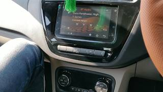 Tata Tiago xz+ music system review. Sound quality of Tata Tiago xz+ .