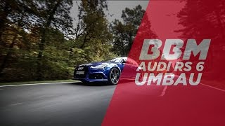 Audi RS6 V8 Bi-Turbo Capristo Exhaust Sound by BBM