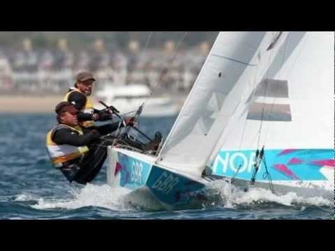 Ben Ainslie Win His Fourth sailing Gold Medal London 2012 Olympics
