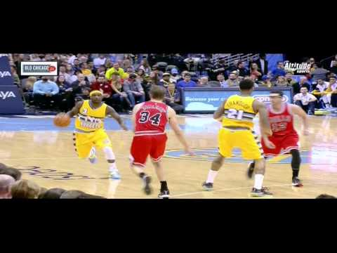 Ty Lawson breaks ankles of Kirk Hinrich: Bulls at Nuggets