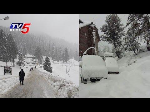 Heavy Snowfall in Kashmir | TV5 News