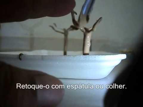 Miniaturas para Maquetes Como fazer �rvores 1