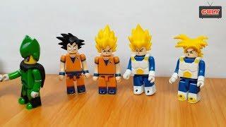 Bộ sưu tập mô hình 7 viên ngọc rồng đồ chơi Lego Dragon Ball mini brick toy for kids