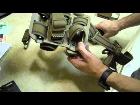 Blackhawk! Tactical Serpa holster set up