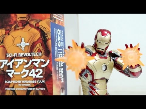 Revoltech Iron Man Mark 42 Review / DiegoHDM