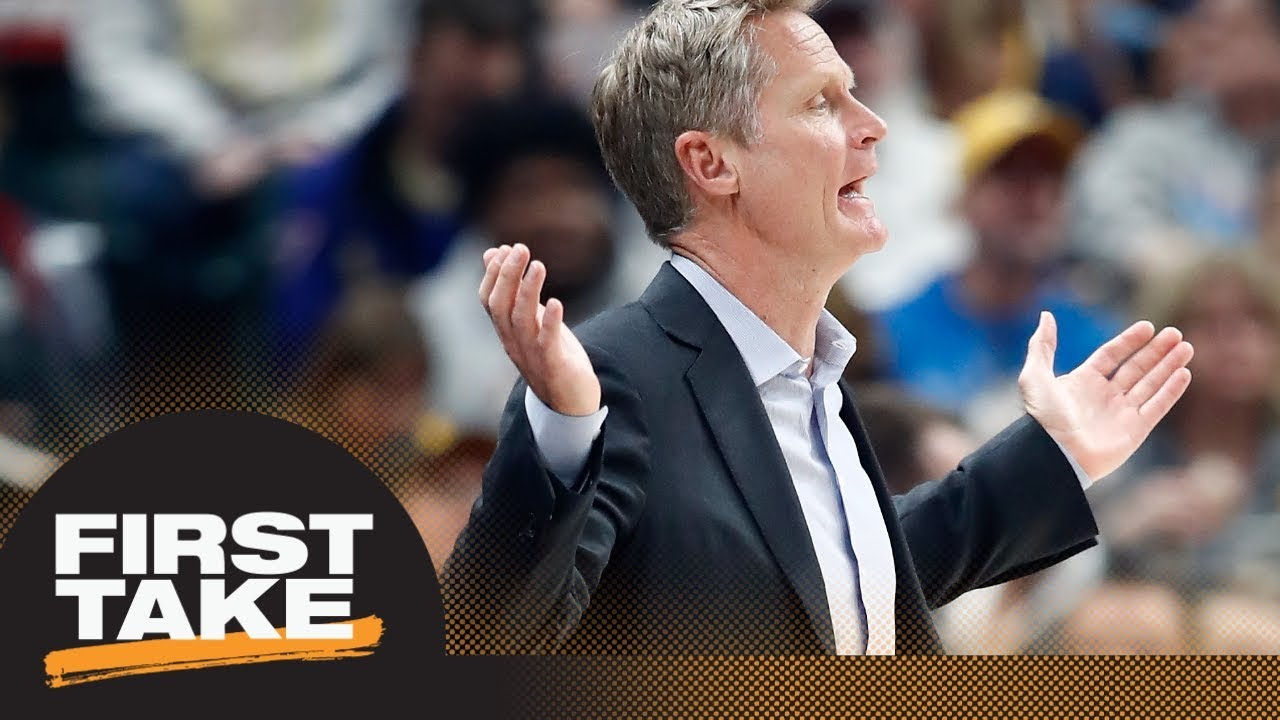 Warriors' mental state after Pacers loss a cause for concern? | First Take | ESPN