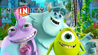 MONSTERS University Cartoon Movie Game for Kids - Video Games for Children - Disney Infinity 1.0