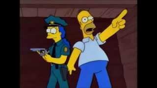 los simpsons  Se escapo, por tu culpa Marge!